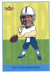 2002 Fleer Tradition Headliners #17 Peyton Manning