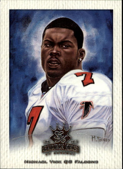 2002 Gridiron Kings #3 Michael Vick
