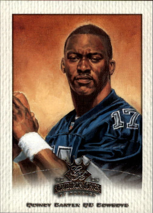 2002 Gridiron Kings #20 Quincy Carter