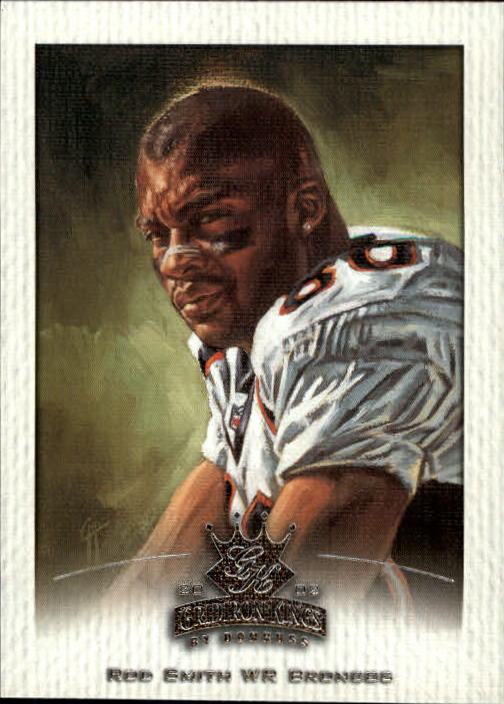 2002 Gridiron Kings #26 Rod Smith