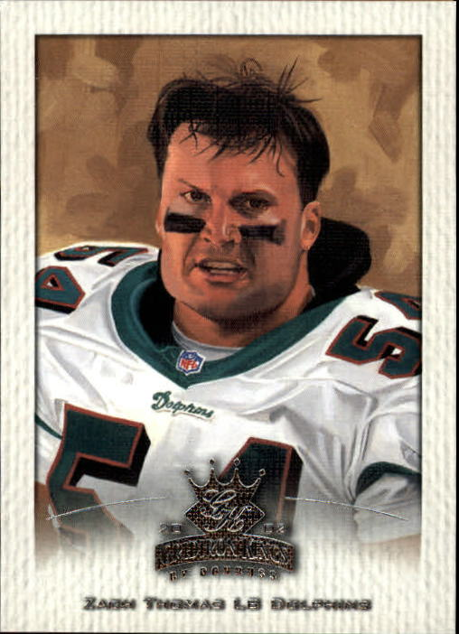 2002 Gridiron Kings #50 Zach Thomas