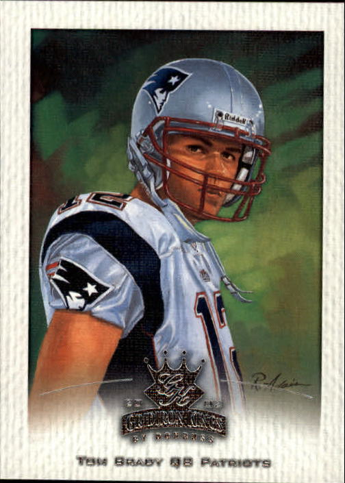 2002 Gridiron Kings #55 Tom Brady