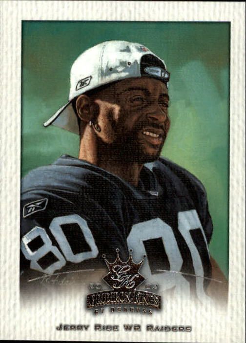 2002 Gridiron Kings #69 Jerry Rice