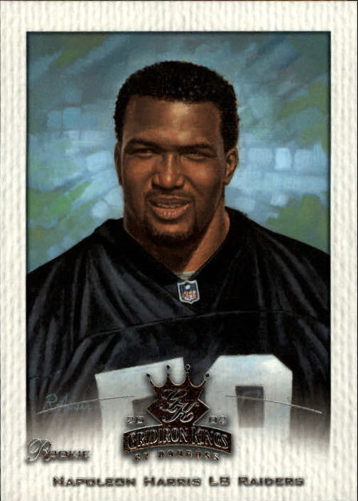 2002 Gridiron Kings #149 Napoleon Harris RC