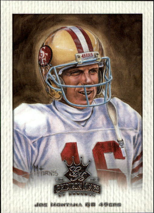 2002 Gridiron Kings #161 Joe Montana