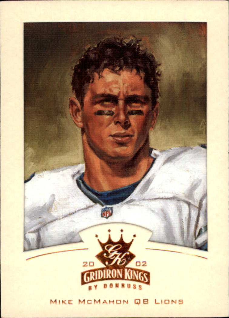 2002 Gridiron Kings Bronze #27 Mike McMahon
