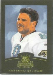 2002 Gridiron Kings Gold #39 Mark Brunell