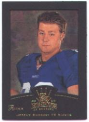 2002 Gridiron Kings Gold #136 Jeremy Shockey