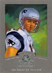 2002 Gridiron Kings Silver #55 Tom Brady