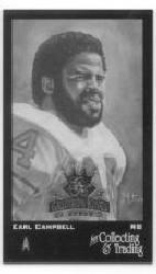 2002 Gridiron Kings Donruss 1894 #MC17 Earl Campbell