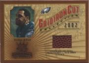 2002 Gridiron Kings Gridiron Cut Collection #GC91 Donovan McNabb FB/550