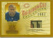 2002 Gridiron Kings Gridiron Cut Collection #GC94 Anthony Thomas FB/550
