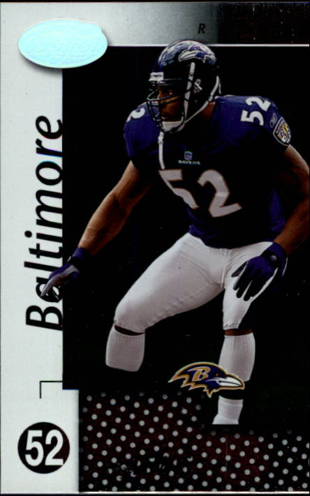 2002 Leaf Certified #6 Ray Lewis