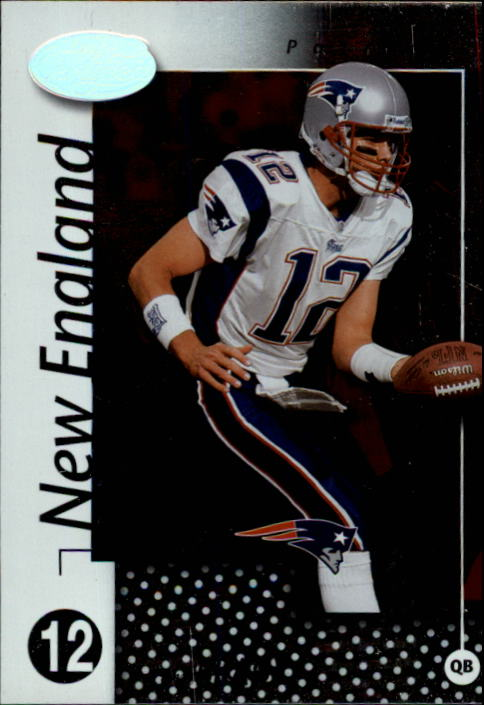 2002 Leaf Certified #52 Tom Brady