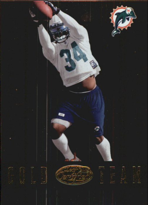 2002 Leaf Certified Gold Team #GT11 Ricky Williams