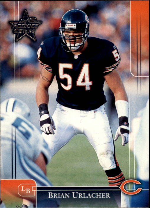 2002 Leaf Rookies and Stars #17 Brian Urlacher