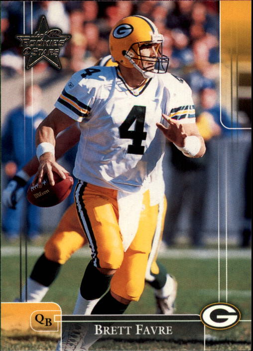 2002 Leaf Rookies and Stars #35 Brett Favre