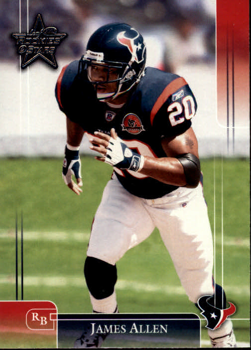 2002 Leaf Rookies and Stars #37 James Allen
