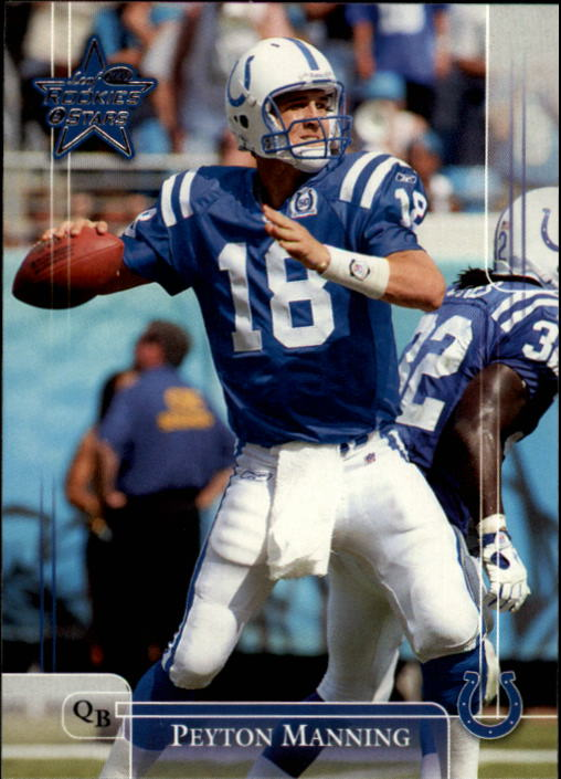 2002 Leaf Rookies and Stars #39 Peyton Manning