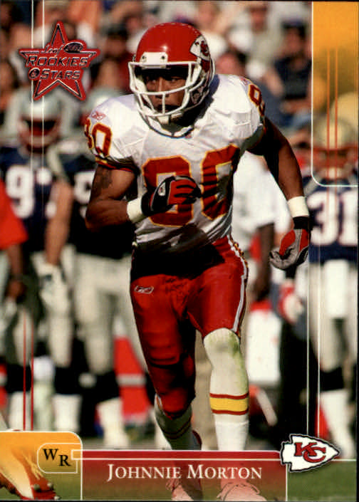 2002 Leaf Rookies and Stars #49 Johnnie Morton