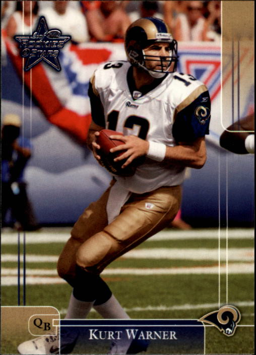2002 Leaf Rookies and Stars #86 Kurt Warner
