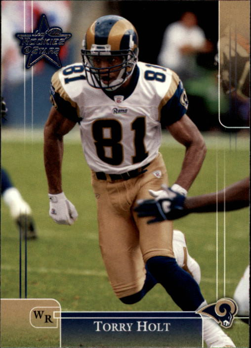 2002 Leaf Rookies and Stars #89 Torry Holt