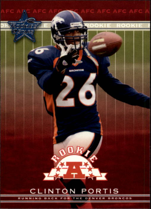 2002 Leaf Rookies and Stars #154 Clinton Portis RC