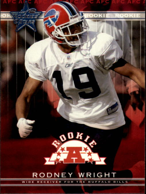 2002 Leaf Rookies and Stars #169 Rodney Wright RC
