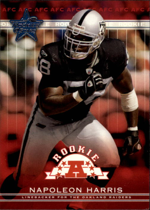 2002 Leaf Rookies and Stars #193 Napoleon Harris RC
