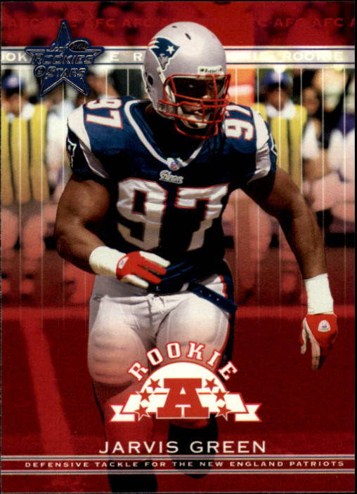 2002 Leaf Rookies and Stars #219 Jarvis Green RC