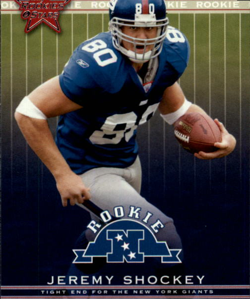 2002 Leaf Rookies and Stars #265 Jeremy Shockey RC