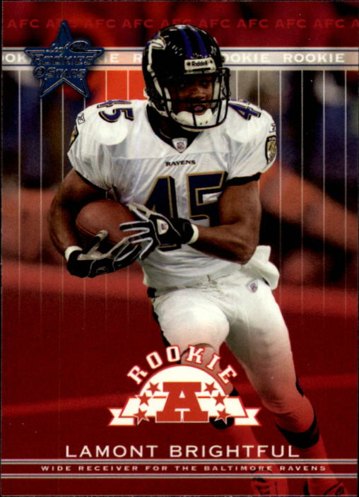 2002 Leaf Rookies and Stars #289 Lamont Brightful RC