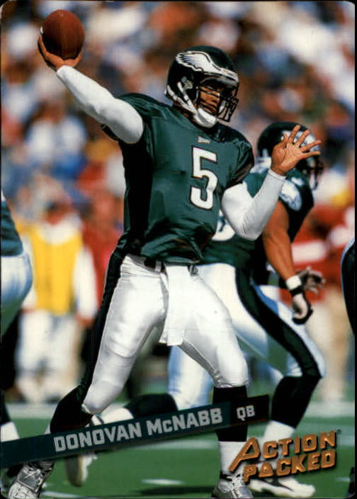 2002 Leaf Rookies and Stars Action Packed Bronze #12 Donovan McNabb