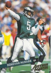 2002 Leaf Rookies and Stars Action Packed Gold #12 Donovan McNabb