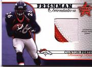 2002 Leaf Rookies and Stars Freshman Orientation Jerseys #FO18 Clinton Portis