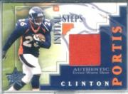2002 Leaf Rookies and Stars Initial Steps #IS19 Clinton Portis