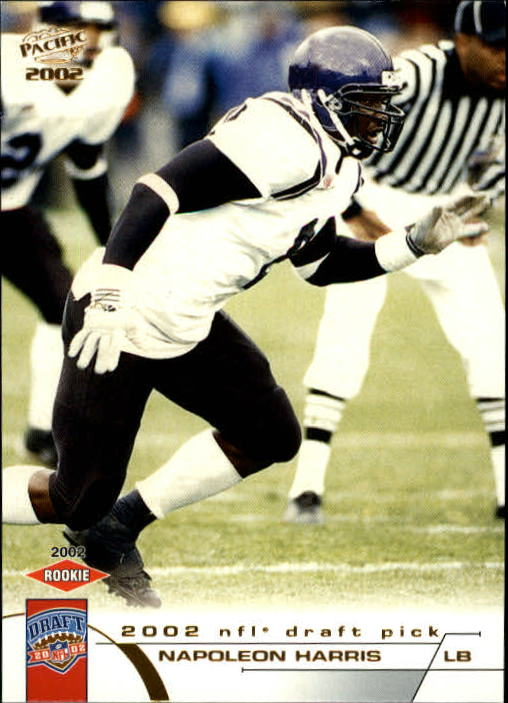 2002 Pacific #481 Napoleon Harris RC