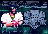 2002 Pacific Draft Force #13 Joey Harrington