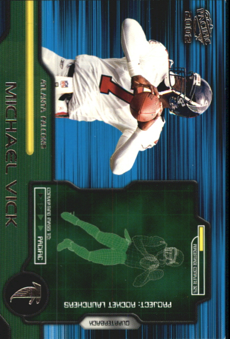 2002 Pacific Rocket Launchers #2 Michael Vick