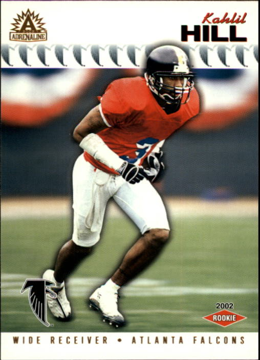 2002 Pacific Adrenaline #14 Kahlil Hill RC