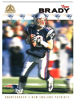 2002 Pacific Adrenaline #163 Tom Brady
