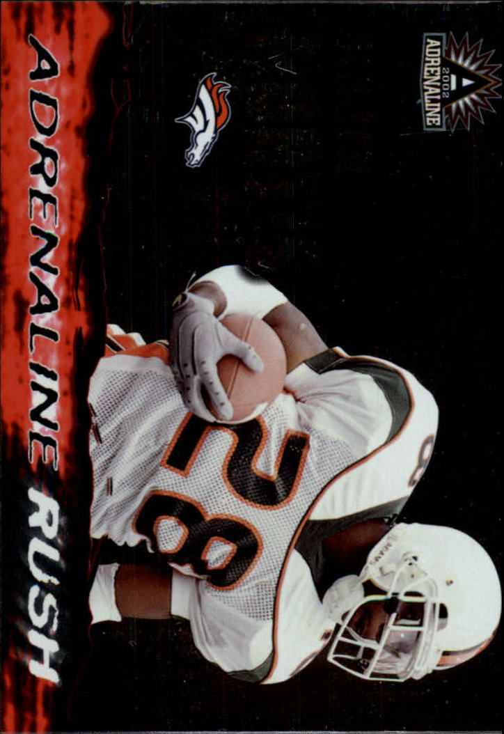 2002 Pacific Adrenaline Rush #8 Clinton Portis
