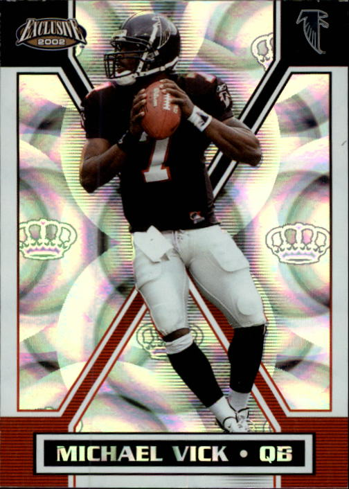 2002 Pacific Exclusive #11 Michael Vick