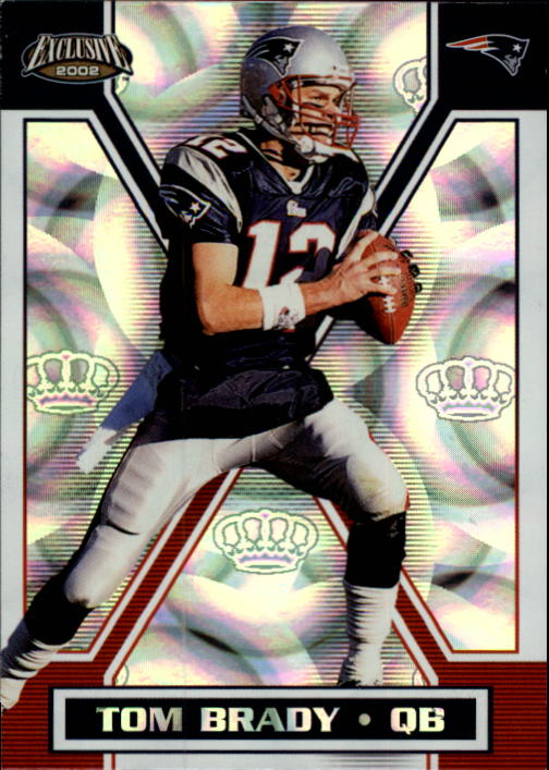 2002 Pacific Exclusive #97 Tom Brady
