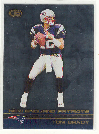 2002 Pacific Heads Up #71 Tom Brady