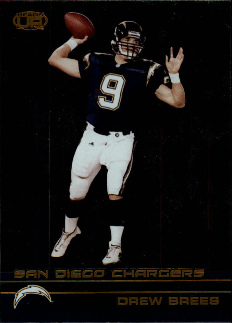 2002 Pacific Heads Up #102 Drew Brees