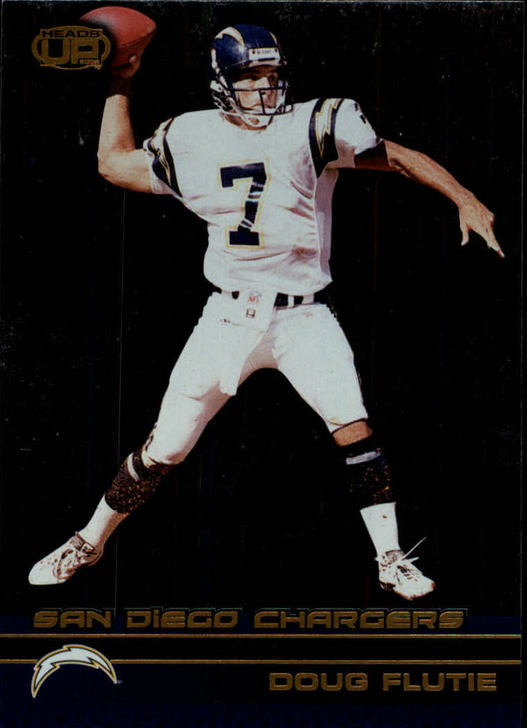 2002 Pacific Heads Up #104 Doug Flutie