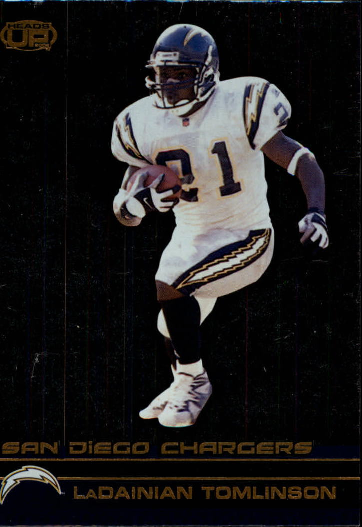 2002 Pacific Heads Up #105 LaDainian Tomlinson