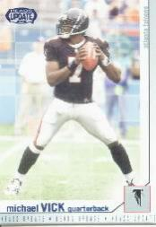 2002 Pacific Heads Update Blue #11 Michael Vick front image