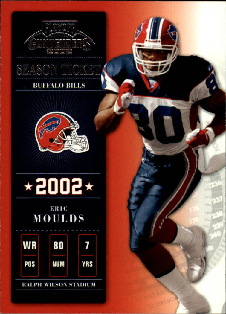 2002 Playoff Contenders #3 Eric Moulds